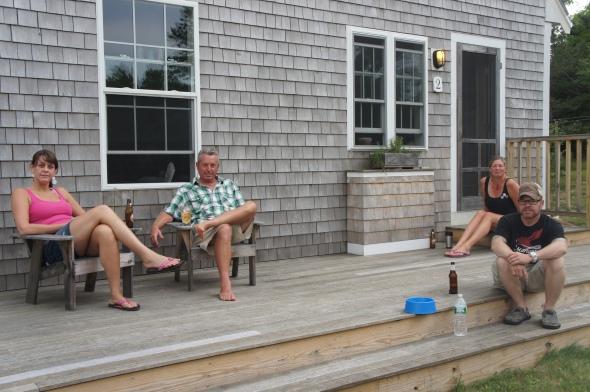 Andrew's Deck, Wellfleet
